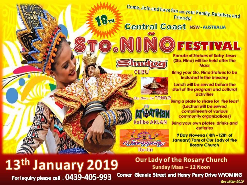 Sto Nino Festival Central Coast